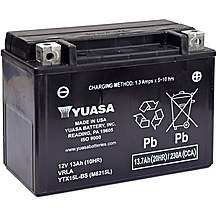 image of Yuasa YTX15L-BS 12V Maintenance Free VRLA Battery