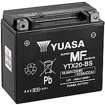 image of Yuasa YTX20-BS 12V Maintenance Free VRLA Battery