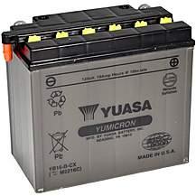 image of Yuasa YB16-B-CX 12V YuMicron CX Battery