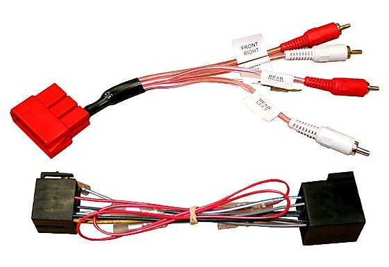Autoleads PC9-404/PC9-410 - Audi ISO Lead/Harness Adaptor