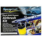 image of SprayCraft Classic Multi-Purpose Airbrush Kit