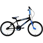 image of Zombie Outbreak BMX Bike - Black & Blue