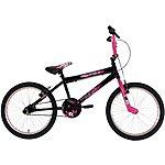 image of Zombie Outbreak BMX Bike - Black & Pink