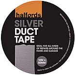 Halfords Duct Tape Silver 50mm x 10m