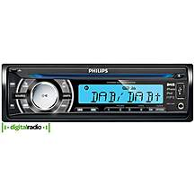 image of Refurbished Philips CEM 3000B DAB iPod iPhone CD MP3 AM FM tuner Car Stereo