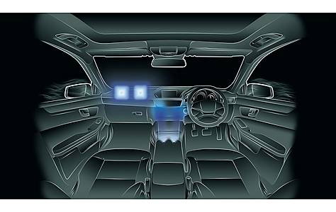 image of Prism Dash Lights x 4 Flat Style