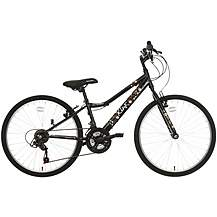 image of Apollo Kinx Girls Hybrid Bike - 24""