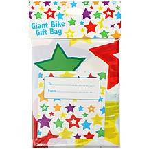 image of Bike Gift Bag - Stars