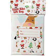 image of Bike Gift Bag - Santa