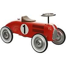 image of Metal Ride on Racing Car
