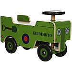 image of Kiddimoto Wooden Ride On 4X4
