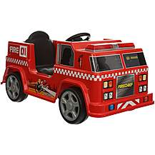image of Firechief Electric Ride On Fire Engine