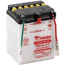 image of Yuasa YB2.5L-C-2 12V YuMicron Battery
