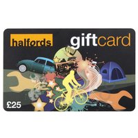 Halfords 25 Pound Gift Card