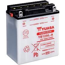 image of Yuasa YB12AL-A 12V YuMicron Battery
