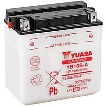 image of Yuasa YB16B-A 12V YuMicron Battery