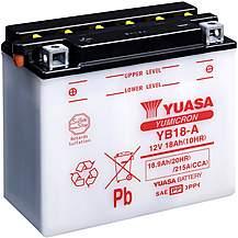 image of Yuasa YB18-A 12V YuMicron Battery
