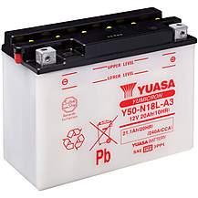 image of Yuasa Y50-N18L-A3 12V YuMicron Battery