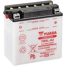 image of Yuasa YB9L-A2 12V YuMicron Battery