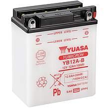image of Yuasa YB12A-B 12V YuMicron Battery