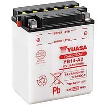 image of Yuasa YB14-A2 12V YuMicron Battery