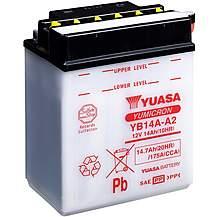 image of Yuasa YB14A-A2 12V YuMicron Battery