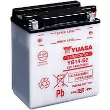 image of Yuasa YB14-B2 12V YuMicron Battery