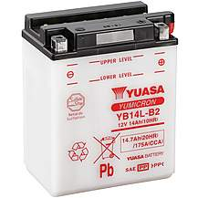 image of Yuasa YB14L-B2 12V YuMicron Battery