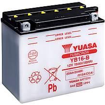 image of Yuasa YB16-B 12V YuMicron Battery