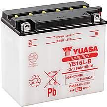image of Yuasa YB16L-B 12V YuMicron Battery
