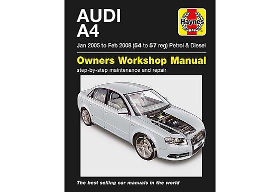 Audi A4 Petrol & Diesel Haynes Manual