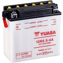 image of Yuasa 12N5.5-4A 12V Conventional Battery