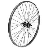 """Rear Mountain Bike Wheel - 26"""" Silver Rim"""