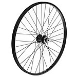 "image of Front Mountain Bike Wheel - 26"" Black Rim"