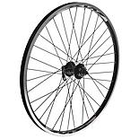 "Quick Release Front Mountain Bike Wheel - 26"" Black Rim"