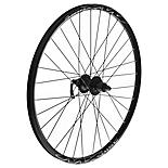 "Quick Release Rear 8/9 Speed Bike wheel - 26"" in Black MX Disc"