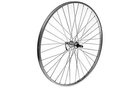 image of Rear 700c Alloy Bike Wheel in Silver