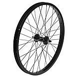 "Front BMX Bike Wheel - 20"" x 1.75"" in Black"