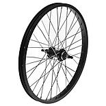 "Rear BMX Bike Wheel - 20"" x 1.75"" in Black"