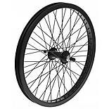 "Front BMX Bike Wheel - 20"" in Black"