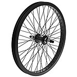 "image of Rear BMX Bike Wheel - 20"" in Black"