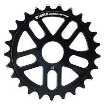 image of Salt Alloy CNC Bike Sprocket 25T - Black