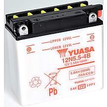 image of Yuasa 12N5.5-4B 12V Conventional Battery