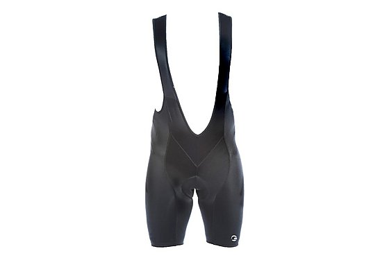 Tenn Mens Cycling Bib Shorts with Pad - Black Large