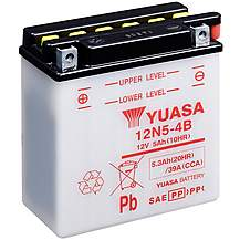 image of Yuasa 12N5-4B 12V Conventional Battery