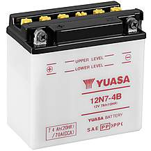 image of Yuasa 12N7-4B 12V Conventional Battery
