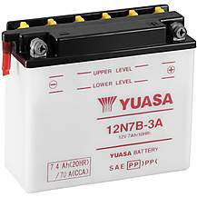 image of Yuasa 12N7B-3A 12V Conventional Battery