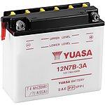 image of Yuasa 12N7B-3A 12V Conventional Battery