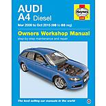 Haynes Audi A4 Diesel (Mar 2008 - Oct 2015) Manual