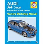 image of Haynes Audi A4 Diesel (Mar 2008 - Oct 2015) Manual